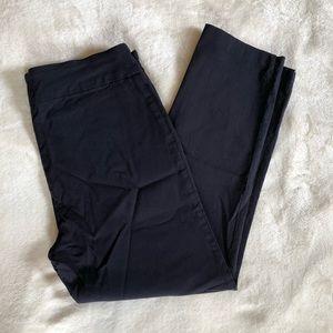 Navy blue stretch dress pants